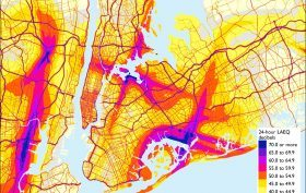 Noise Pollution, DOT map, NYC