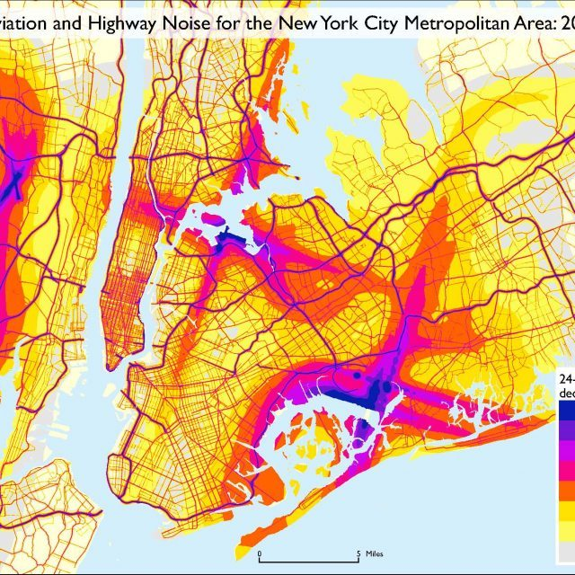 Noise pollution is worse in Jersey than NYC according to new DOT map