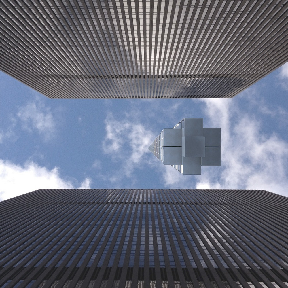 Cloud Architecture Office, Analemma Tower, Asteroid Skyscraper