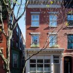 281 West 4th Street, townhouses, west village, annabelle selldorf, cool listings, interiors, outdoor spaces