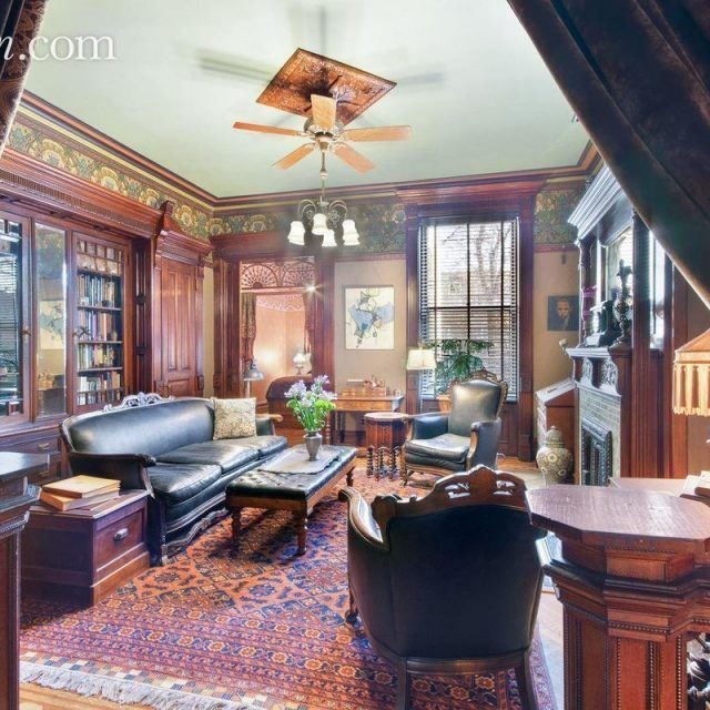 Renaissance Revival brownstone in Bed-Stuy has original 'speaking tubes' dating back to 1895