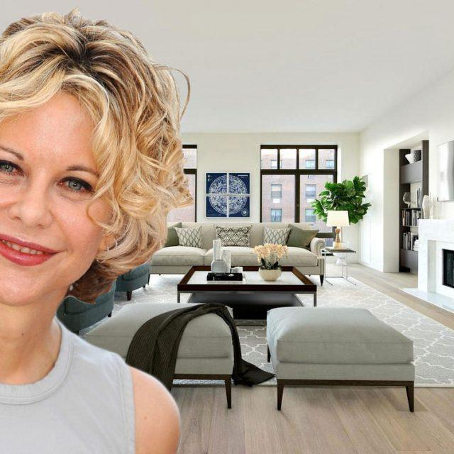 Meg Ryan scopes out a $28K/month West Village townhouse