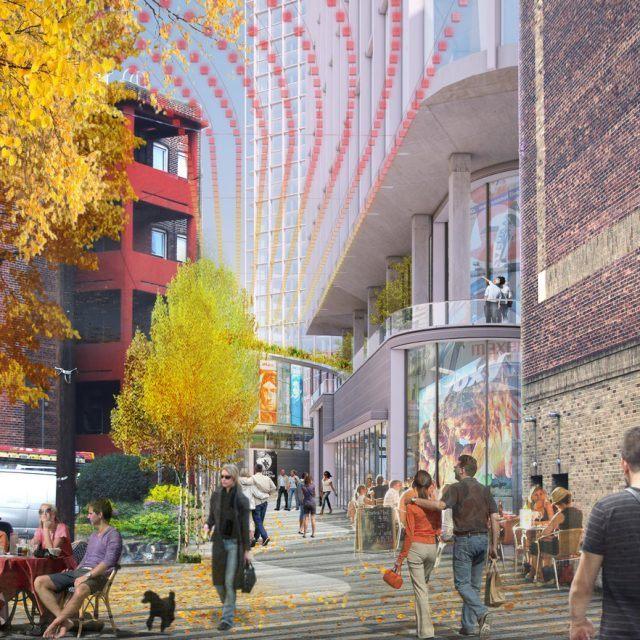 Studio V's art-focused development will bring 1,200 residential units to Journal Square