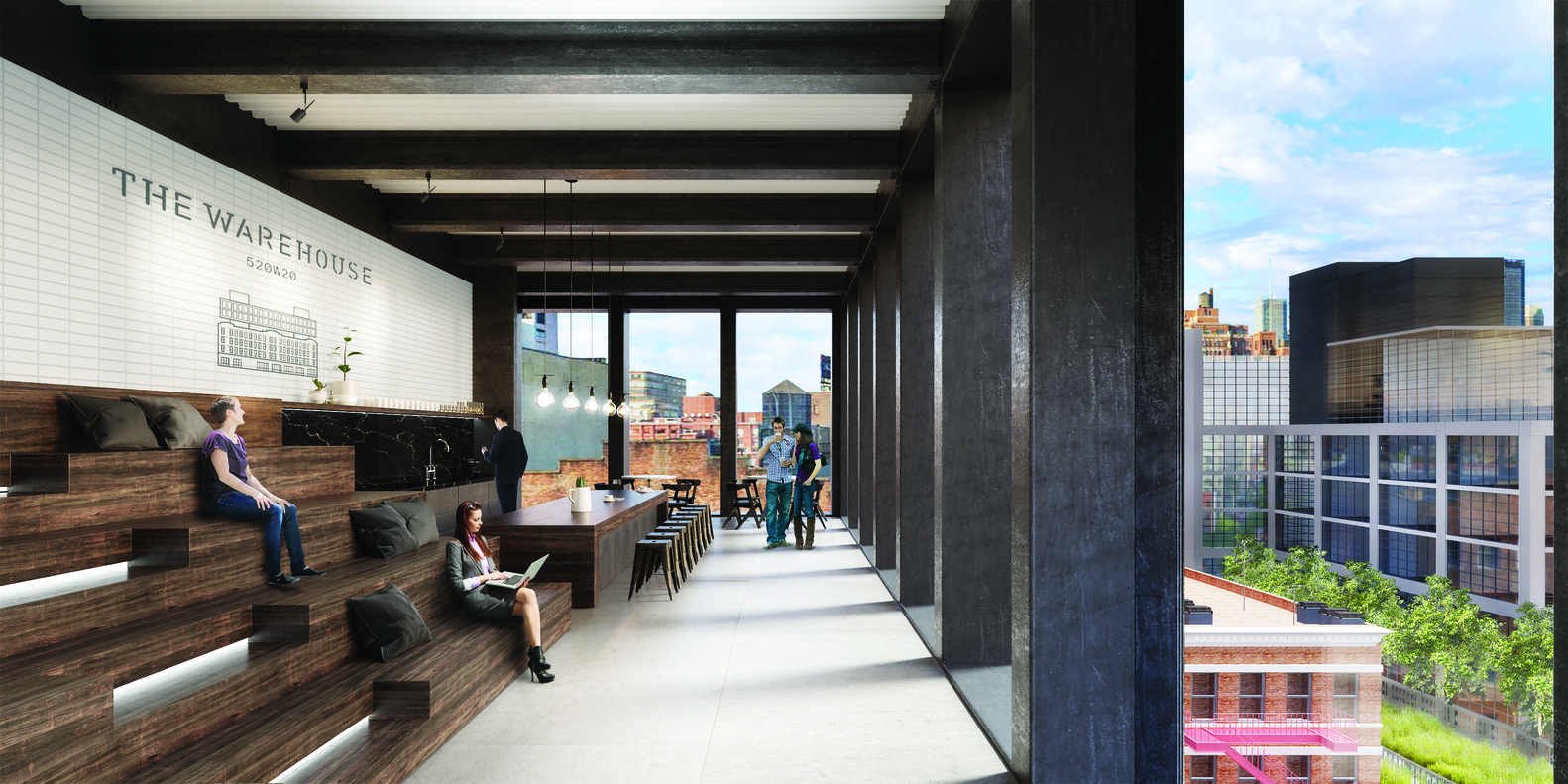 The Warehouse, High Line architecture, Elijah Equities, Morris Adjmi, 520 West 20th Street