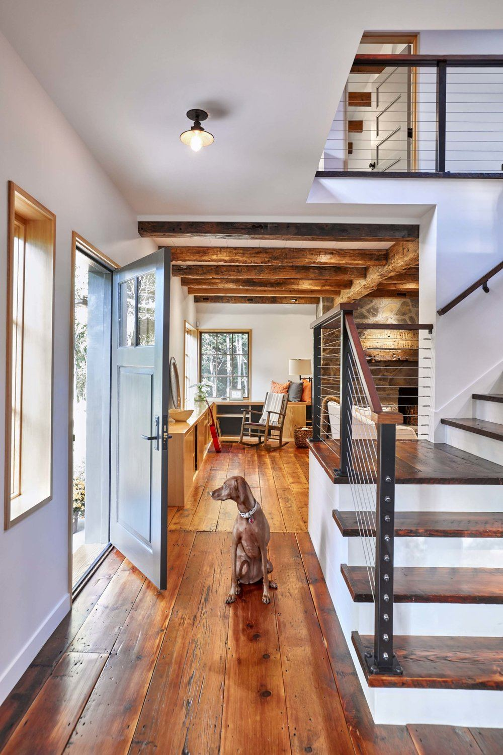 F Z Design Transforms An Old Upstate Farmhouse Into A