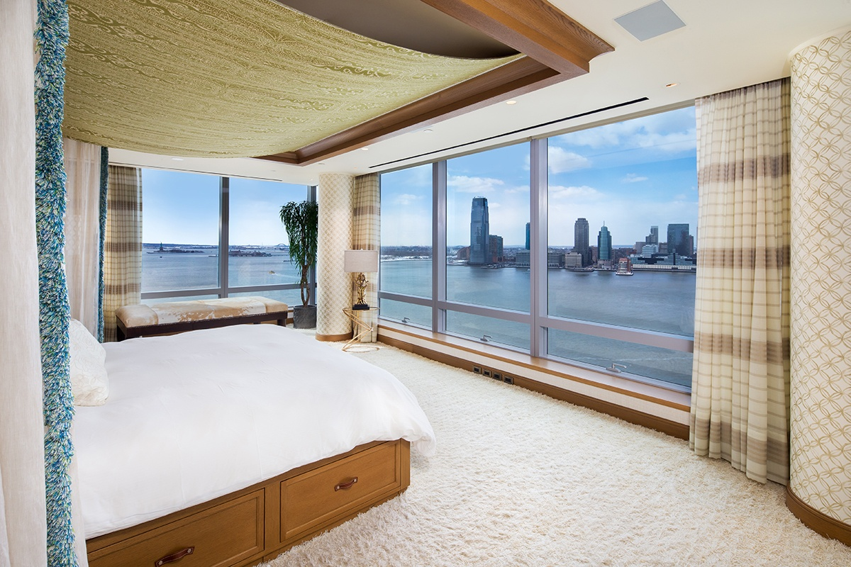 tyra banks u0027 enormous battery park city duplex hits the market for