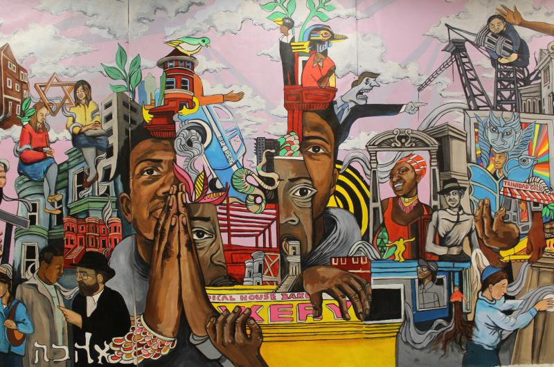 Crown Heights Mural, Danielle McDonald