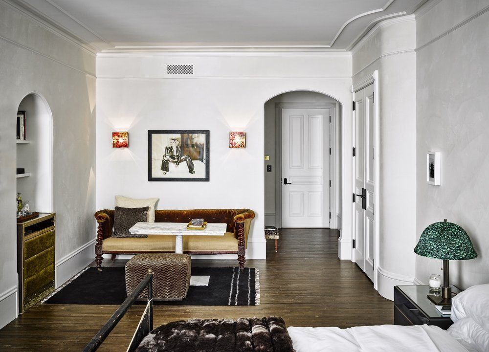 First Look At The Iconic Hotel Chelsea S Glamorous Interior