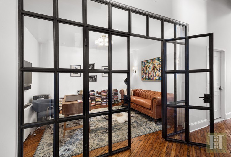An upscale renovation transformed this 375M Williamsburg loft with