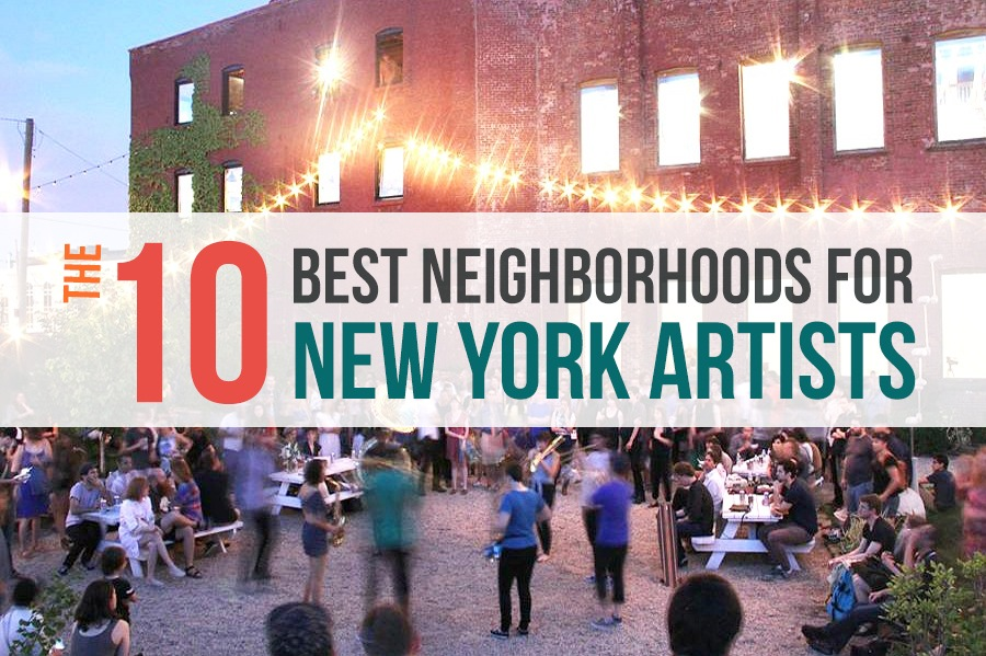 the 10 best neighborhoods for new york city artists 6sqft. Black Bedroom Furniture Sets. Home Design Ideas