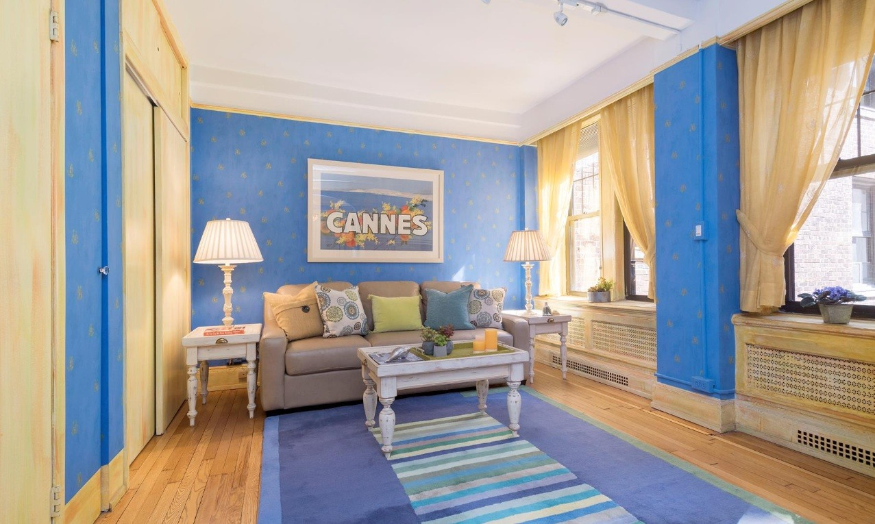 Colorful studio right off Central Park West asks just $575K | 6sqft