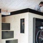 NILS HOLGER MOORMANN, Kammerspiel, multifunctional living pods, bed storage systems