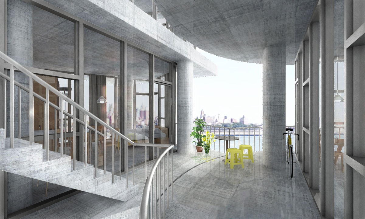Kwong von glinow 39 s new prototype for affordable housing - Affordable interior designers nyc ...