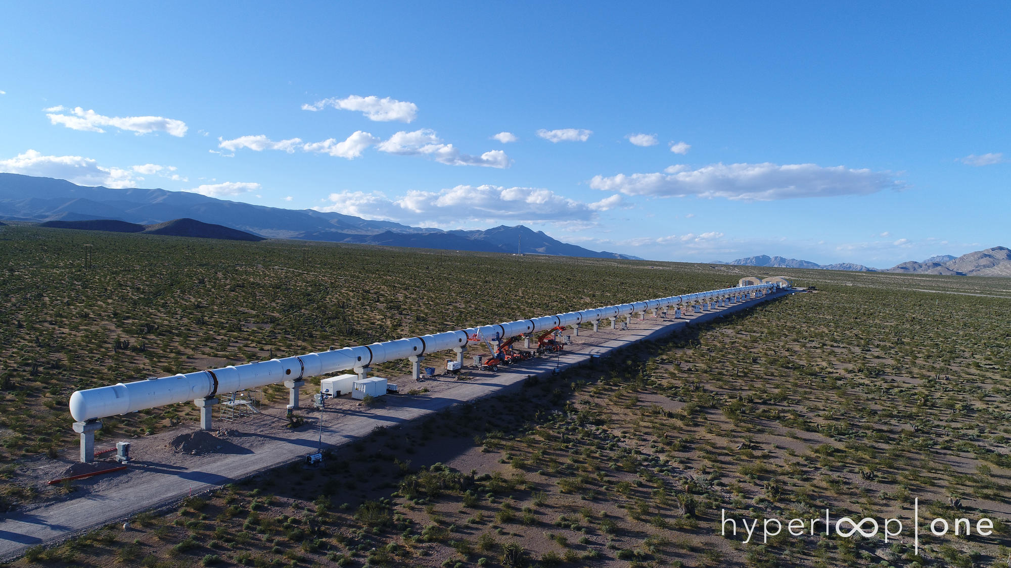HyperLoop One, High-speed tube, magentically levitating pods