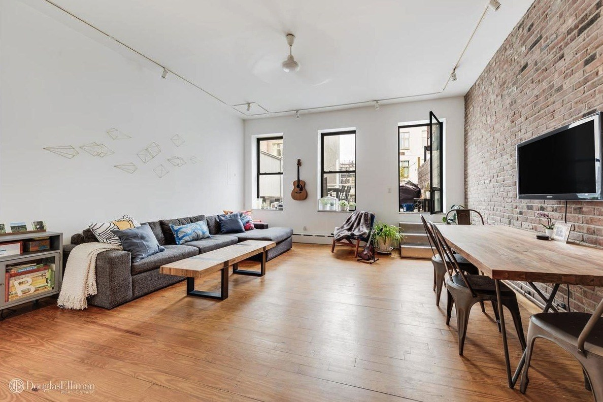 Marvelous Both The Second And The Third Floor Are Being Rented As Floor Through  Apartments. Each Apartment Has A Large Bedroom, Oak Floors, Exposed Brick  And High ...