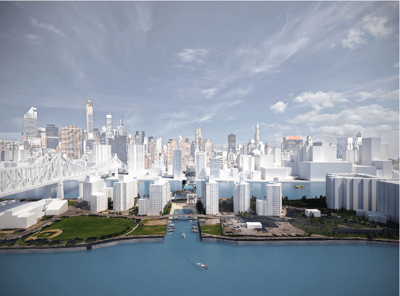 Victor Ostojic, Roosevelt Island, Ferry Terminal Rendering