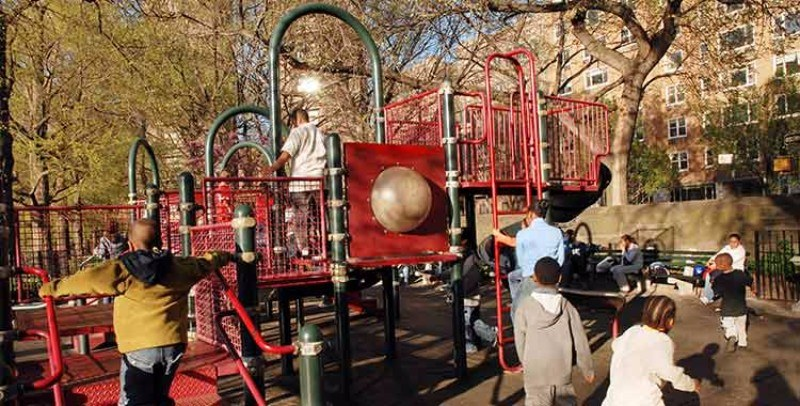 Central Park, Bernard Family Playground, Central Park Conservancy