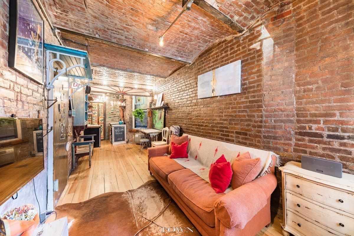 This duplex co op is as described filled with historic charm the apartments former owner an interior designer restored and embellished every
