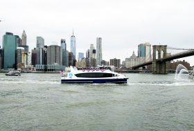 New York's first citywide ferry, citywide ferry, nyc ferry, hornblower nyc ferry
