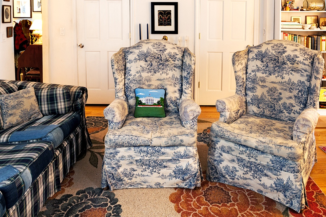 Furniture Village Insurance my 900sqft: a podcasting pioneer fills her family's west village
