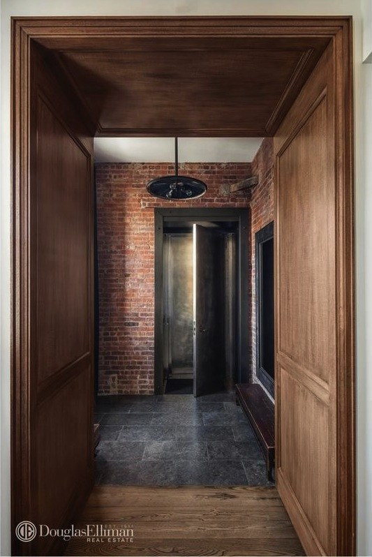 Foyer Infinity Apartment : This m tribeca penthouse boasts exceptional outdoor