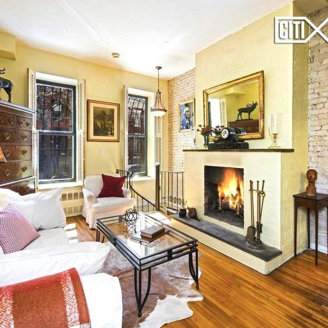 This cozy duplex within a Yorkville brownstone is asking a reasonable $695K