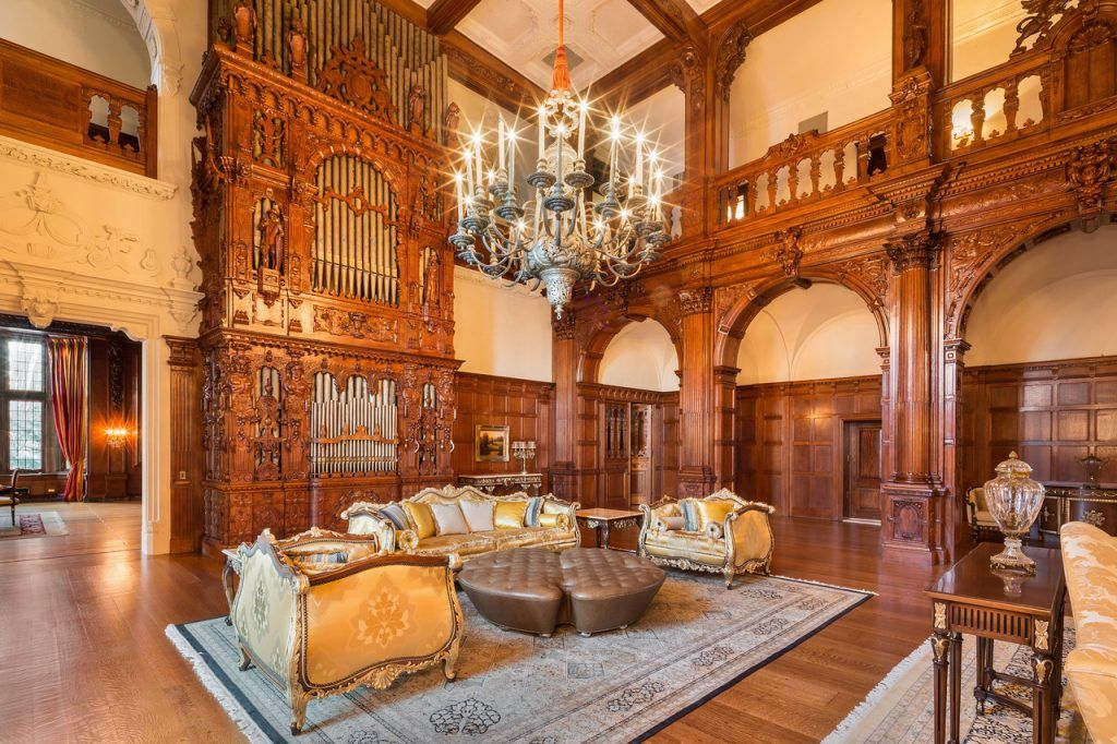 100-year-old New Jersey 'castle' with 58 rooms hits the ...