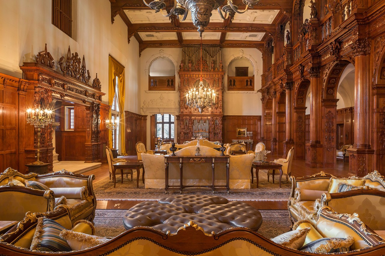 100 year old new jersey 39 castle 39 with 58 rooms hits the market for 48m 6sqft Home furniture usa nj