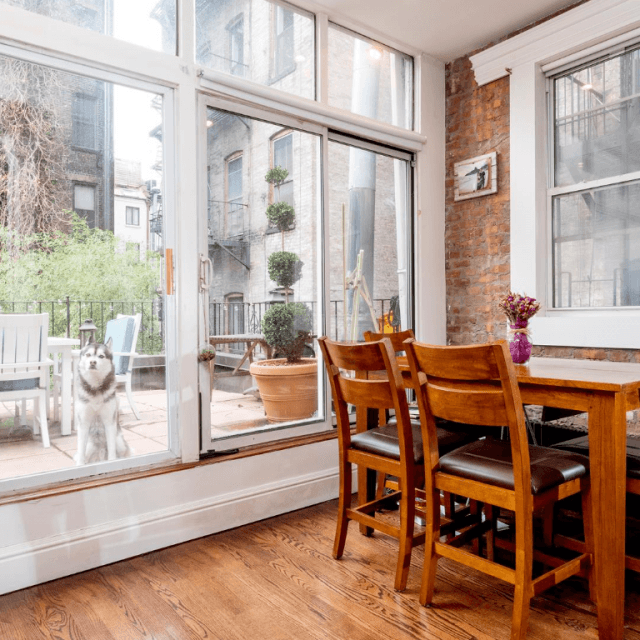 Quintessential West Village pad comes with private outdoor space, asks $5K a month