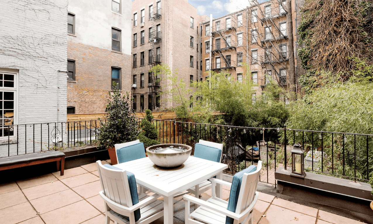 191 West 10th Street, West Village, Cool Listings, Rentals, outdoor spaces