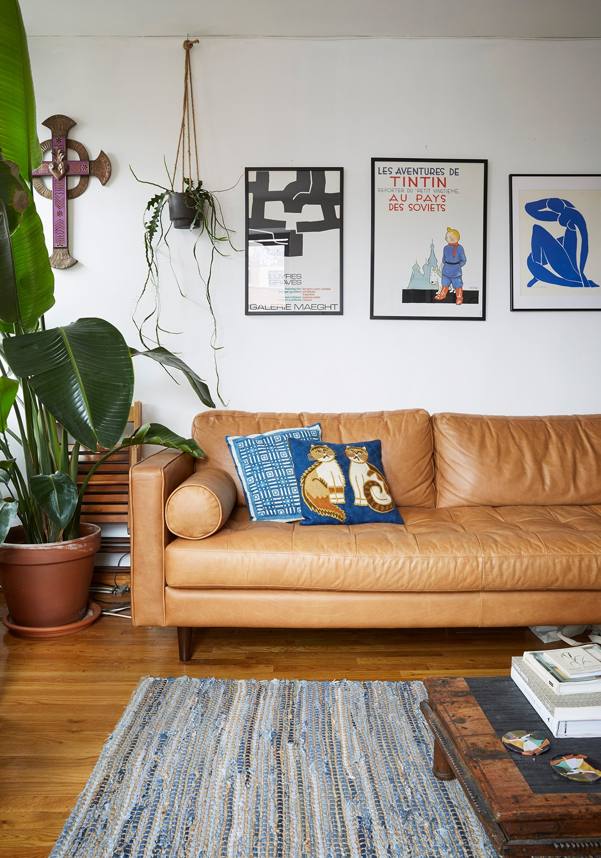 Ahead, Tour His Once Uninspiring 850 Square Foot Apartment, Now A Bright  And Airy Top Floor Escape Outfitted With Soft Hued Mid Century Modern  Furniture, ...