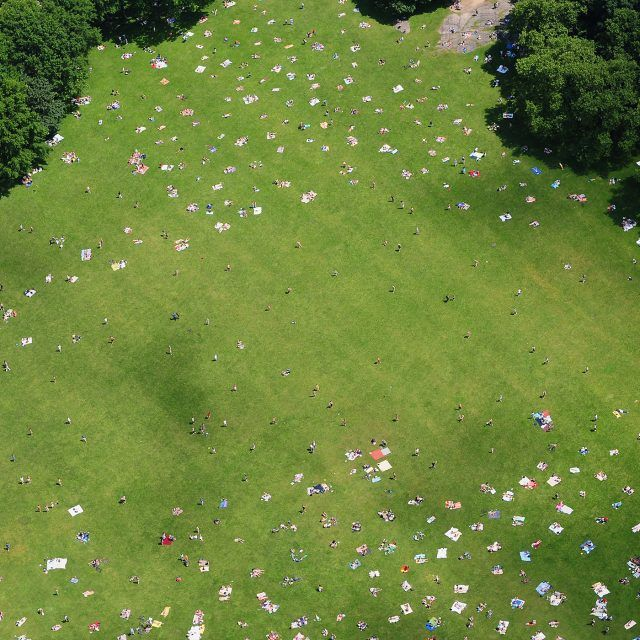 The Urban Lens: Peter Massini tours NYC's public parks and sports fields from above