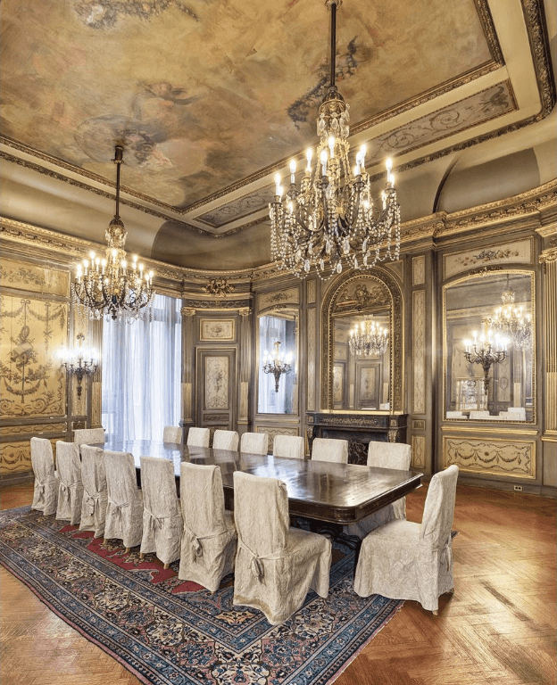 Mansion Dining Room: Manhattan's Last Intact Gilded Age Mansion Can Be Yours