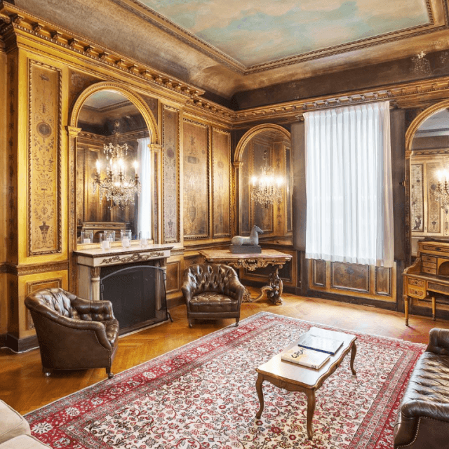 Manhattan's last intact Gilded Age mansion can be yours for $50M–including a working stove from 1905