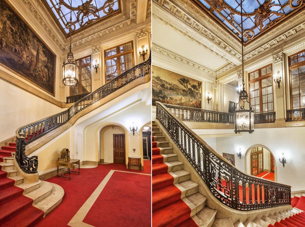 Manhattan s last intact gilded age mansion can be yours for Nyc mansions for sale