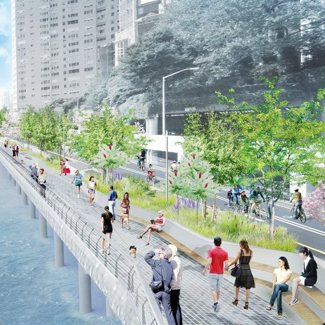 City will spend $100M on a new esplanade to close the gap along Manhattan's East River greenway
