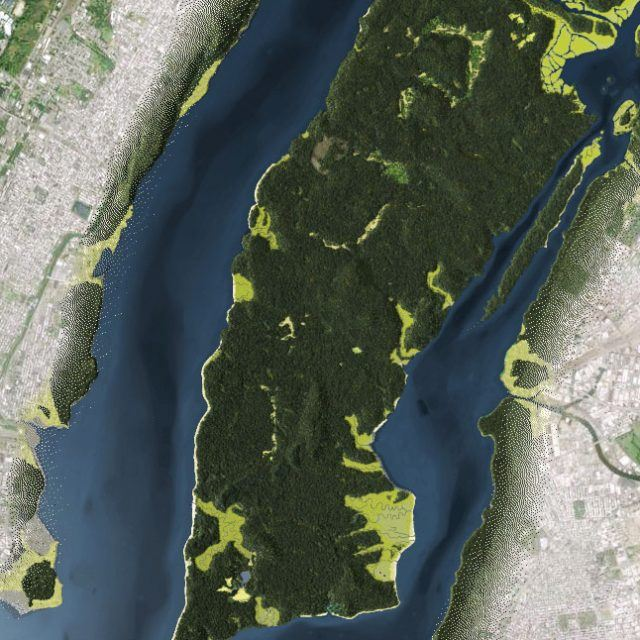 Hear the natural sounds that made up life in 17th century Manhattan (interactive)