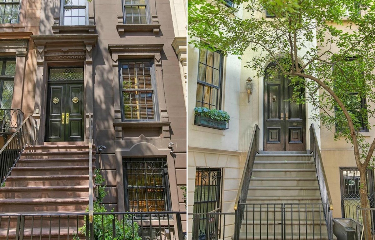 This 28m upper east side multi townhouse garden pool for Upper east side townhouses