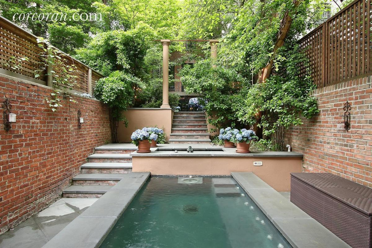 This 28m Upper East Side Multi Townhouse Garden Pool Megamansion Compound Is Not Like The