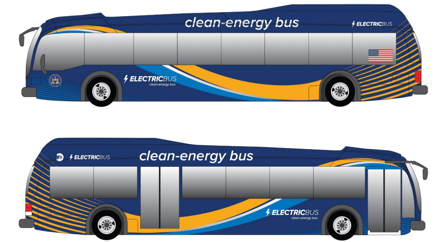 First fleet of electric buses will be rolled out in NYC this year