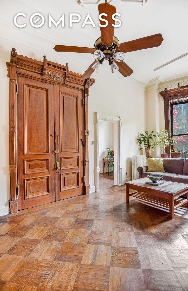 Parlor Floor Of An 1800s Park Slope Brownstone Is Now A 1