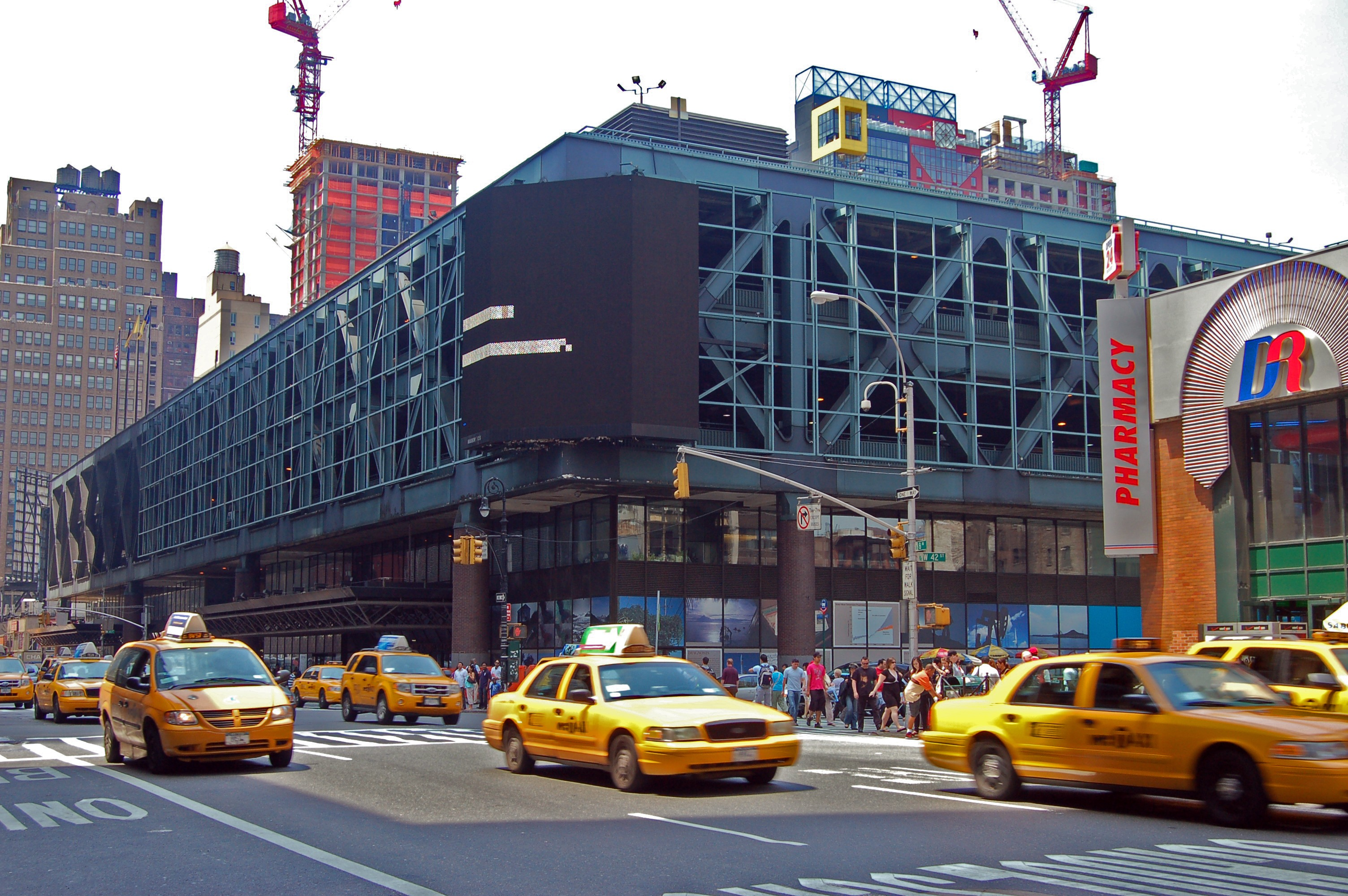 Port Authority Bus Terminal Unlikely To Be Built Anew