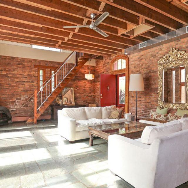 This $1.3M converted barn in Garrison, NY hails from the horse and buggy era with the modern feel of a loft