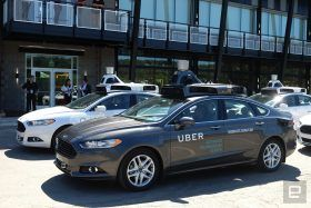 Self-Driving car, Uber, autonomous vehicle