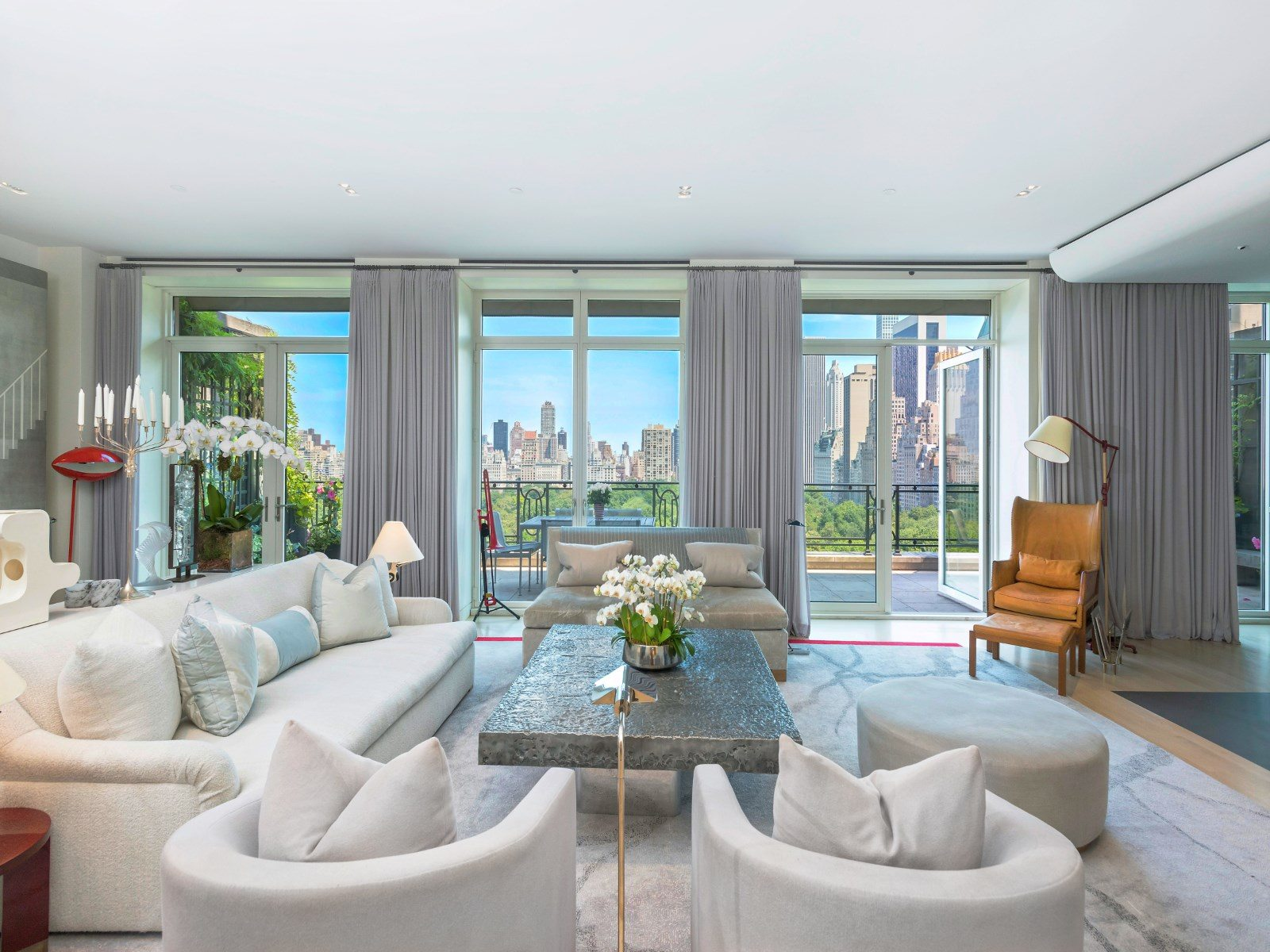 15 Central Park West, celebrity listings, Sting apartment