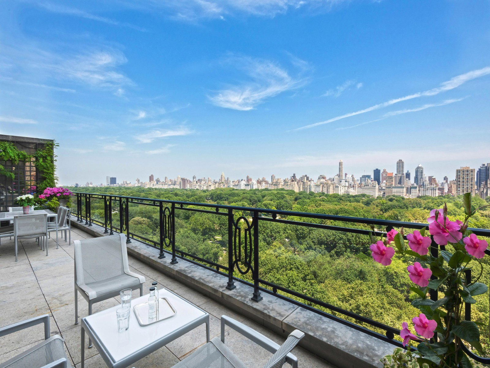 Sting 39 s futuristic meets classic 15 central park west for New york city penthouses central park