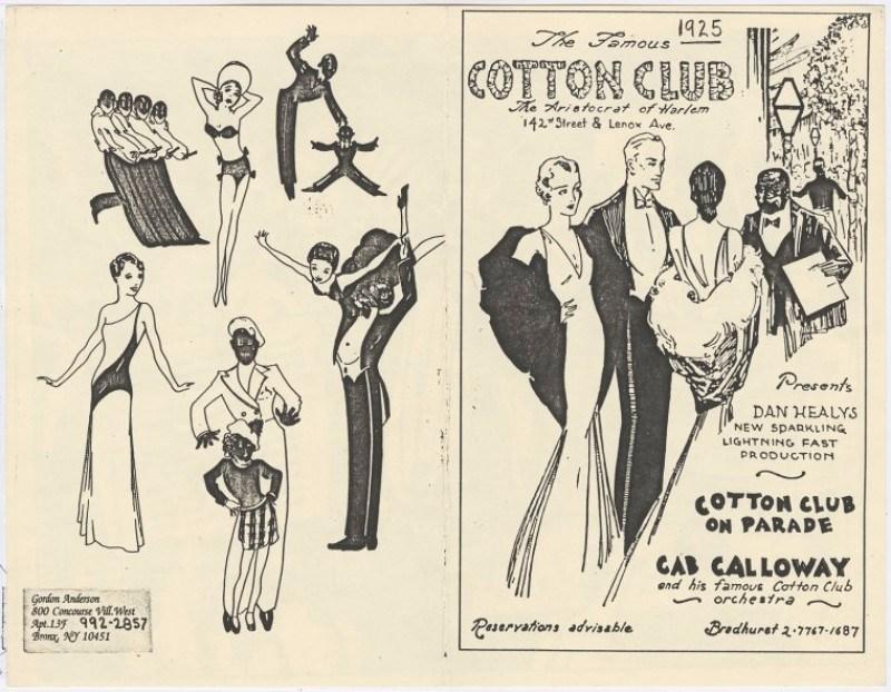 Harlem Renaissance, Cotton Club, Harlem History