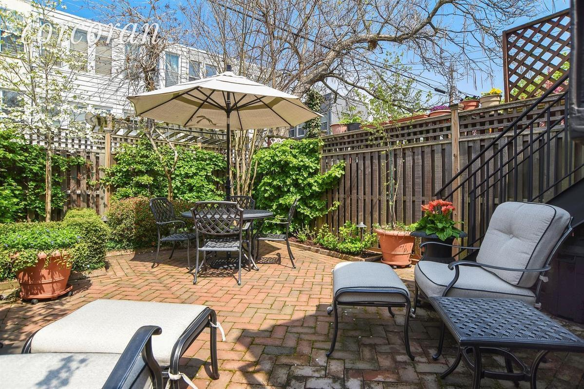 2 25m windsor terrace townhouse with front porch and landscaped