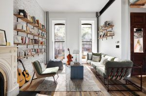 121 saint james place, townhouses, clinton hill, rentals, renovation, interiors, cool listings