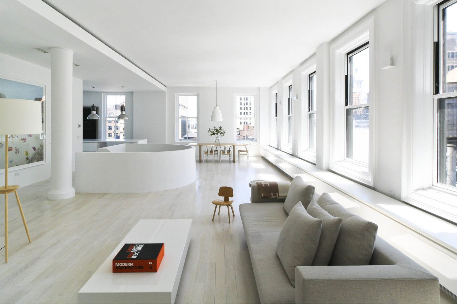 Resolution 4 Architecture Designed This White Bright Light And